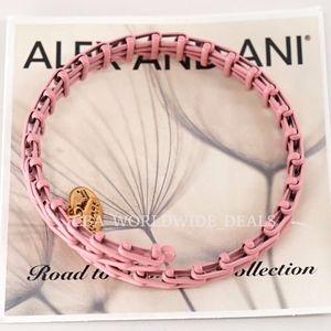 Alex And Ani Peony Pink Gypsy 66 Wrap Bracelet